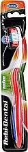 Profumi e cosmetici Spazzolino Rebi-Dental M42, medio duro, rosso - Mattes