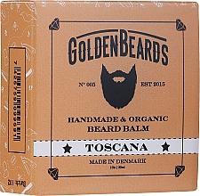 "Profumi e cosmetici Balsamo da barba ""Toscana"" - Golden Beards Beard Balm"