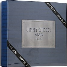 Profumi e cosmetici Jimmy Choo Man Blue - Set (edt/100ml + ash/balm/100ml + edt/7.5ml)