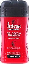 Profumi e cosmetici Shampoo doccia con estratto di ginseng - Intesa Classic Black Shower Shampoo Gel Revitalizing