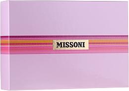 Profumi e cosmetici Missoni Missoni - Set (edt/100ml + b/milk/100ml + sh/gel/100ml)