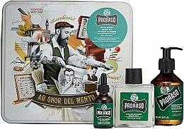 Profumi e cosmetici Set da barba - Proraso Refreshing Gift Set (beard wash/200ml + beard balm/100ml + beard oil/30ml)