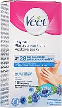 Profumi e cosmetici Strisce di cera con aroma di fiordaliso, per il corpo - Veet Easy-Gel