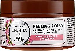 Profumi e cosmetici Scrub al sale con olio di fico biologico - GlySkinCare Opuntia Oil Salt Scrub
