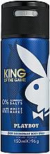 Profumi e cosmetici Playboy King Of The Game - Deodorante