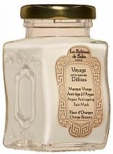 Profumi e cosmetici Maschera viso - La Sultane De Saba Bio Argan & Orange Blossom Argan Anti-Ageing Face Mask Orange Blossom