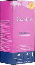 Profumi e cosmetici Assorbenti quotidiani igienici con aroma fresco, 40 pezzi. - Carefree Plus Long Fresh Scent