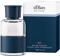 Profumi e cosmetici S. Oliver So Pure Men - Eau de toilette