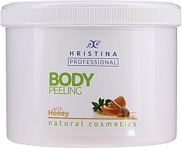 "Profumi e cosmetici Scrub corpo ""Miele"" - Hristina Professional Honey Body Peeling"