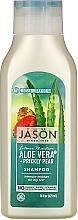 "Profumi e cosmetici Shampoo idratante ""Aloe Vera"" - Jason Natural Cosmetics Moisturizing Aloe Vera 84% Shampoo"