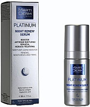 Profumi e cosmetici Siero rivitalizzante da notte - MartiDerm Platinum Night Renew Serum