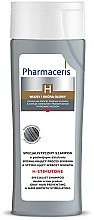 Profumi e cosmetici Shampoo - Pharmaceris H-Stimutone Specialist Shampoo Gray Hair Preventing & Hair Growth Stimulating