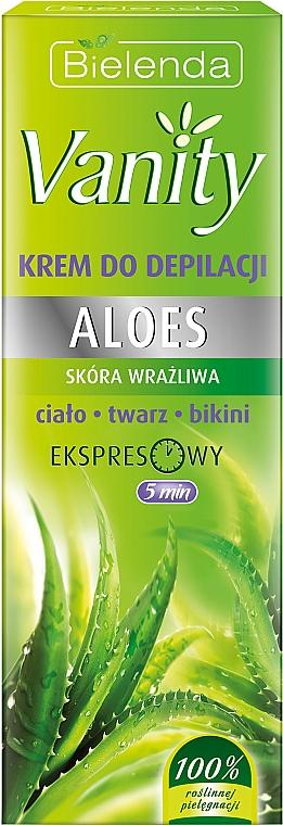 """Crema depilatoria """"Aloe"""" - Bielenda Vanity"""