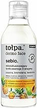 Profumi e cosmetici Essenza viso tonificante micro-esfoliante - Tolpa Dermo Face Essence-Tonic