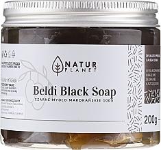 Profumi e cosmetici Sapone-beldi marocchino nero - Natur Planet Moroccan Beldi Black Soap