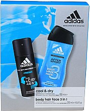Profumi e cosmetici Set - Adidas After Sport (deo/150ml + sh/gel/250ml)