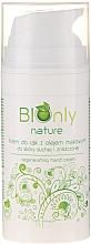 Profumi e cosmetici Crema mani rigenerante con olio di semi di papavero - BIOnly Nature Regenerating Hand Cream