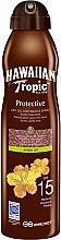 Profumi e cosmetici Olio secco abbronzante - Hawaiian Tropic Protective Argan Oil Spray SPF 15