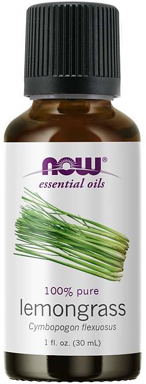 Olio essenziale di citronella - Now Foods Essential Oils 100% Pure Lemongrass