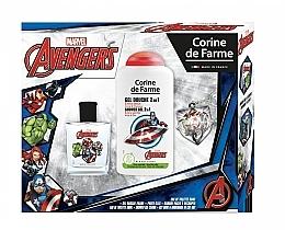 Profumi e cosmetici Marvel The Avengers - Set (edt/50ml + sh/gel/250ml)