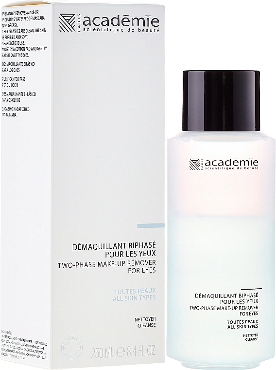 Struccante bifasico occhi - Academie Two-Phase Make-Up Remover for Eyes — foto N3