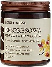 Profumi e cosmetici Balsamo-Express per capelli con olio di mango e avocado - Bosphaera