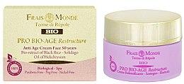 Profumi e cosmetici Crema viso ristrutturante giorno 50+ - Frais Monde Pro Bio-Age Restructure AntiAge Face Cream 50Years