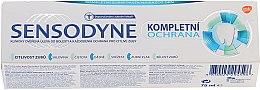 """Profumi e cosmetici Dentifricio """"Protezione completa"""" con fluoro - Sensopdyne Toothpaste"""