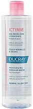 Profumi e cosmetici Acqua micellare - Ducray Ictyane Eau Micellaire Hydratante
