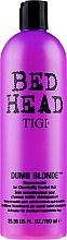 Profumi e cosmetici Condizionante rigenerante per capelli danneggiati - Tigi Bed Head Dumb Blonde Conditioner