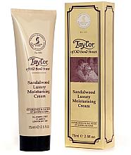 "Profumi e cosmetici Crema idratante ""Legno di sandalo"" - Taylor of Old Bond Street Sandalwood Moisturising Cream"
