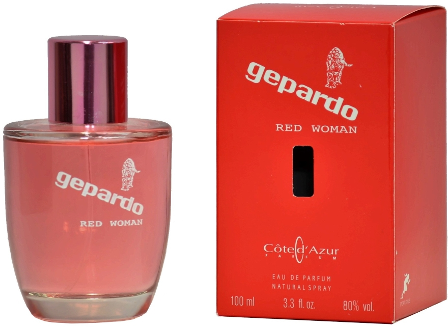 Cote d`Azur Gepardo Red Women - Eau de Parfum — foto N1