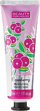 Profumi e cosmetici Crema mani - Beauty Formulas Cranberry Moisturising Hand Cream