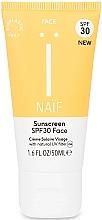 Profumi e cosmetici Crema solare - Naif Sunscreen Face Spf30