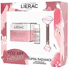 Profumi e cosmetici Set - Lierac Supra Radiance Set (f/cr/50ml + f/milk/30ml + roller/1pcs)