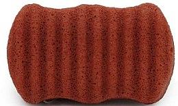 Profumi e cosmetici Spugna per viso e corpo con argilla rossa - Bebevisa Konjac Sponge