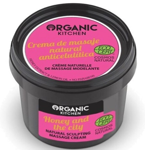 Crema corpo modellante anticellulite - Organic Shop Organic Kitchen Honey And City Cream