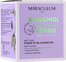 Profumi e cosmetici Crema viso da notte - Miraculum Bakuchiol Botanique Retino Anti-Age Cream