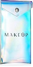Profumi e cosmetici Beauty case trasparente, «Holographic», 18x9cm - MakeUp