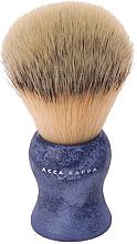 Profumi e cosmetici Pennello da barba - Acca Kappa Shaving Brush Natural Style Blue