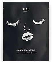 Maschera a bolle con carbone - Pibu Beauty Bubbling Charcoal Mask — foto N1