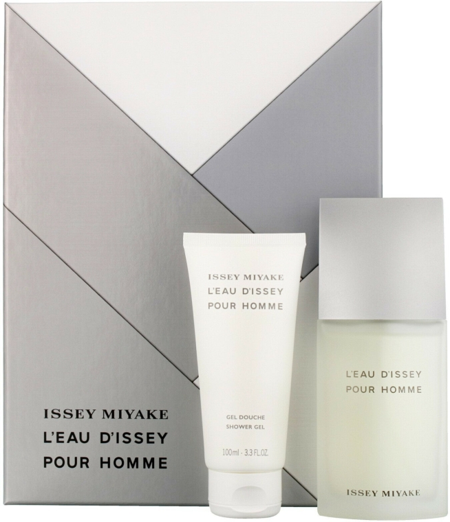 Issey Miyake Leau Dissey pour homme - Set (edt/75ml + sh/g/100ml) — foto N1
