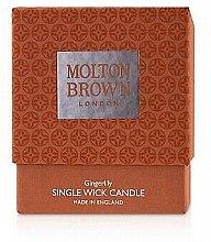 Profumi e cosmetici Molton Brown Gingerlily Single Wick Candle - Candela con 1 stoppino