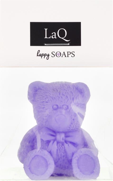 """Sapone naturale fatto a mano """"Orsetto"""" con profumo di lavanda - LaQ Happy Soaps Natural Soap"""