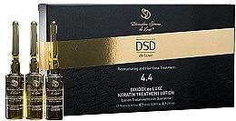 Profumi e cosmetici Lozione rivitalizzante con cheratina Dixidox De Luxe No. 4.4 - Divination Simone De Luxe Dixidox De Luxe Keratin Treatment Lotion
