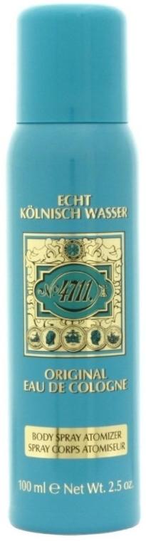 Maurer & Wirtz 4711 Original Eau de Cologne - Spray per corpo — foto N1
