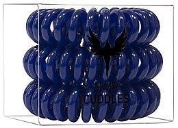 Profumi e cosmetici Elastico per capelli, blu scuro - HH Simonsen Hair Cuddles Dark Blue