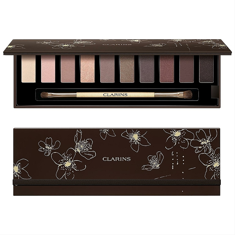 Palette di ombretti - Clarins The Essentials Palette Make Up 10 Eyeshadows — foto N1