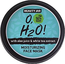 Profumi e cosmetici Maschera viso idratante - Beauty Jar O,H2O Moisturizing Face Mask