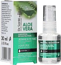 """Profumi e cosmetici Siero anti doppie punte """"Seta liquida"""" - Dr. Sante Aloe Vera Liquid Silk Serum For Split Ends"""